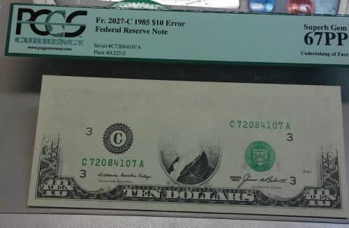 Error Note Paper Money Buyers