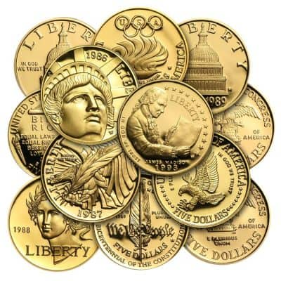 Cash For All Gold Commemorative Coins